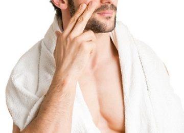 ניקוי פנים לגבר